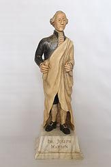Frank Finney wood carving statue Warren