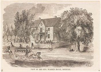 Home Joseph Warren Roxbury engraving