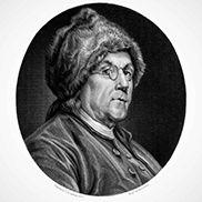 Benjamin Franklin fur hat