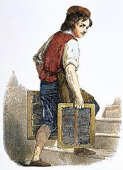Apprentince Ben Franklin boy