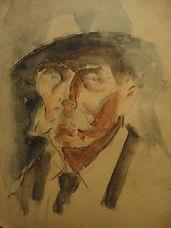 Harry Baker self portrait