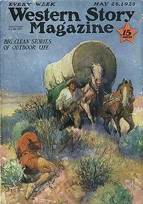 Western Story Magazine May 1926  Art
