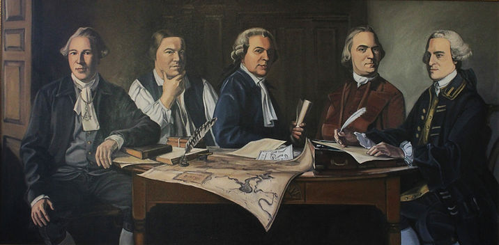 Joseph Warren Paul Revere John Adams Sam Adams John Hancock