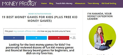 Money Prodigy best games play