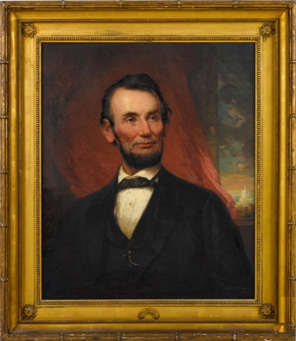 Portrait of Abraham Lincoln by George Henry Story