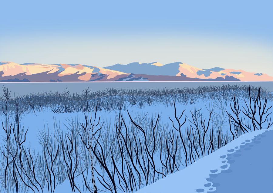 Abisko morning light