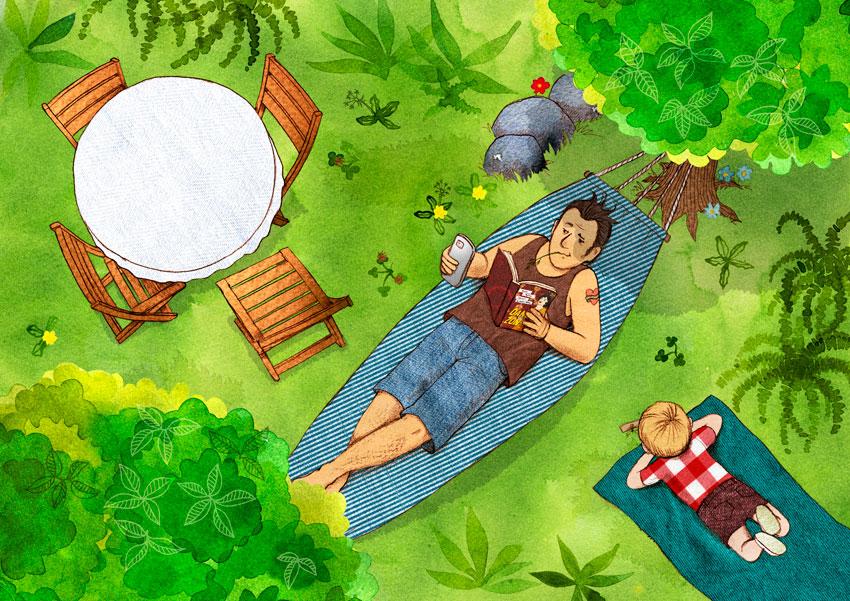 Sven och semestermarodörerna