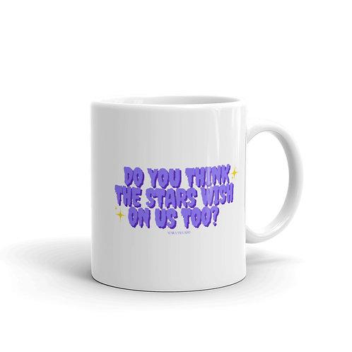 Wishing Stars glossy mug