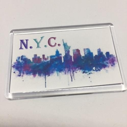 Annie NYC Fridge Magnet