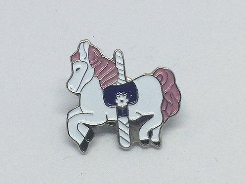 Carousel Horse Lapel Pin