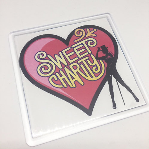 Sweet Charity Heart Coaster