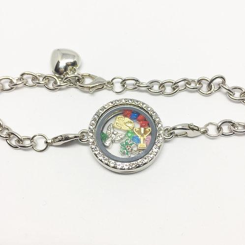 Joseph memory locket bracelet