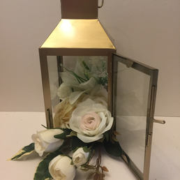 Gold Lantern 24 x 10cm
