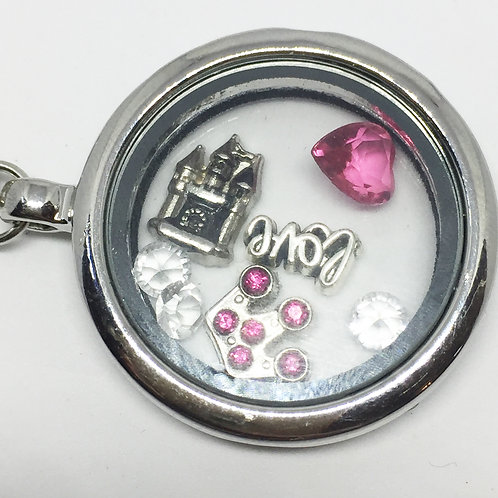 Camelot Memory Locket Key ring