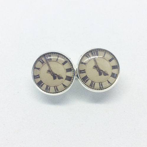 Clock or Time Cufflinks