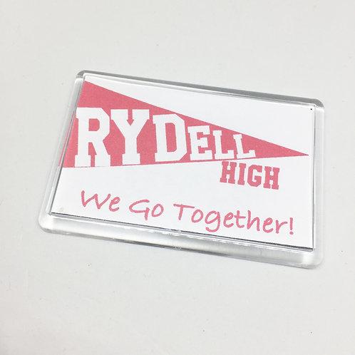Grease Rydell High Fridge Magnet