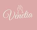 venetia logo in white