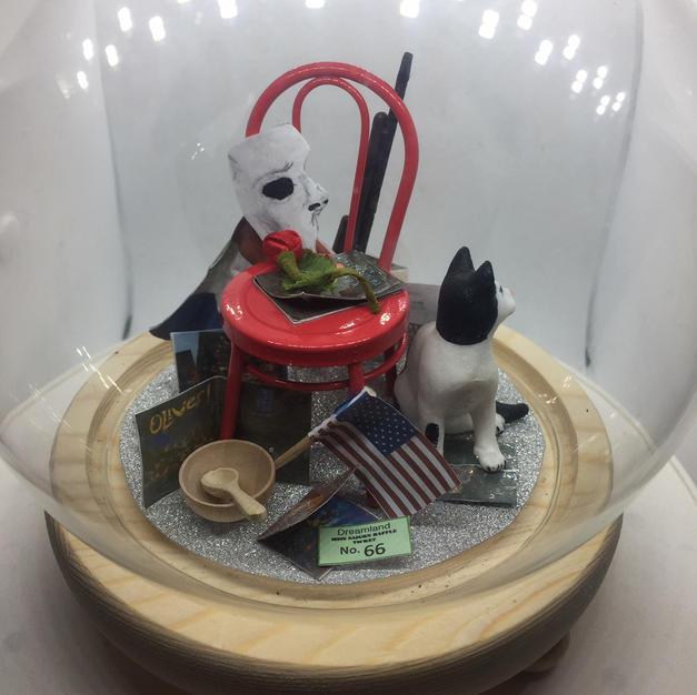 Dome diorama