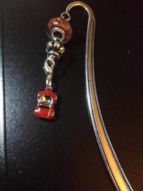 Red Car Bookmark