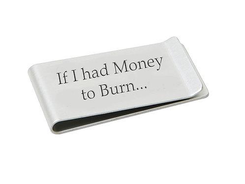 Half a Sixpence 'Money to Burn' Money Clip