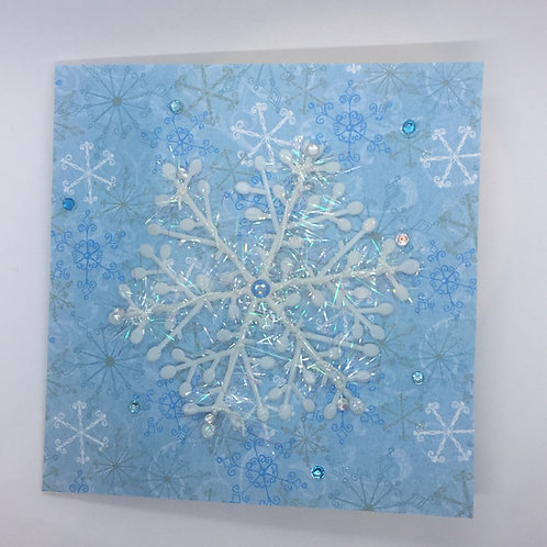 Snowflake Card 025