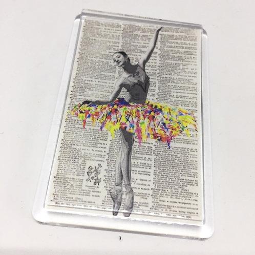 Ballerina Fridge Magnet