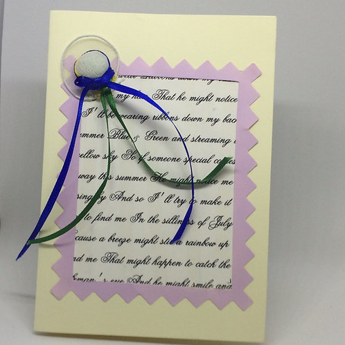 Hello Dolly 'Ribbons Down my Back' Card