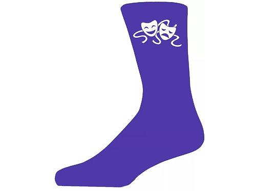 Theatre Mask Socks