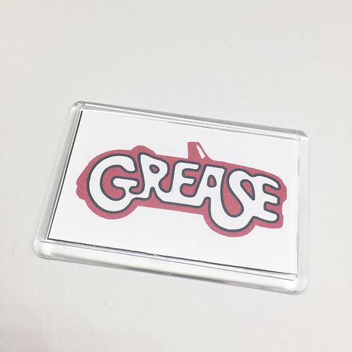 Grease Fridge Magnet