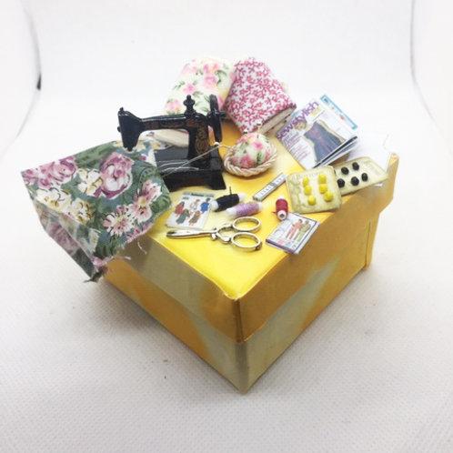 Large Seamstress Gift Box