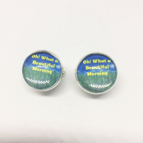 Oklahoma! - 'Oh What a Beautiful Morning' Cufflinks