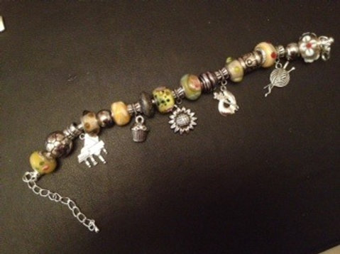 Calendar Girls Charm Bracelet