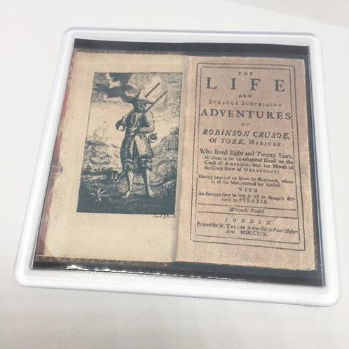 Robinson Crusoe Book Coaster