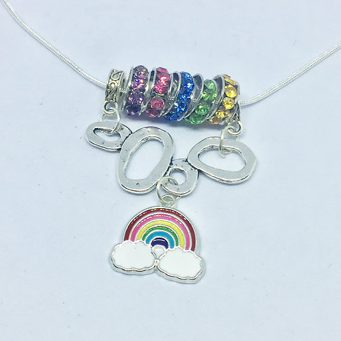 Wizard of Oz Rainbow necklace
