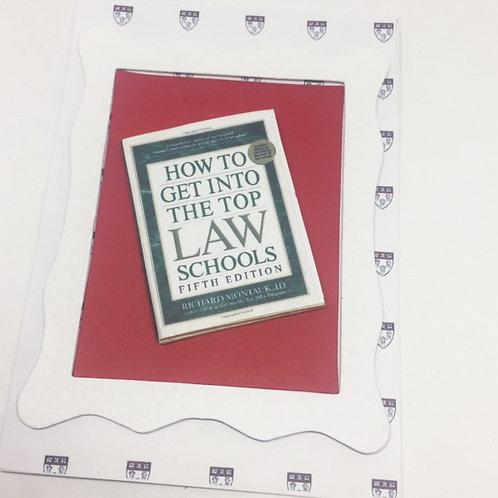 Legally Blonde Harvard Law School Card