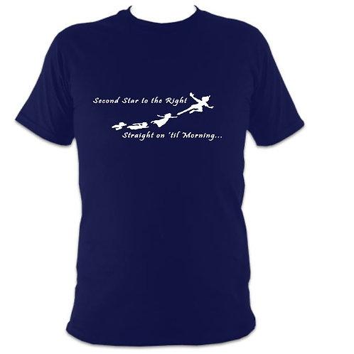 Peter Pan Unisex Flight over London T-shirt
