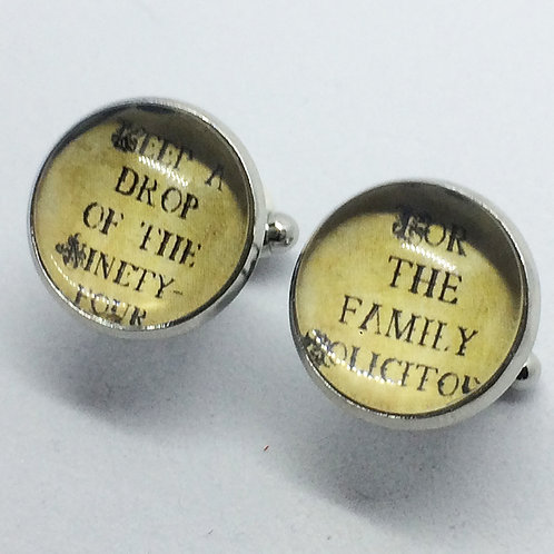 Me and My Girl Family Solicitor Cufflinks