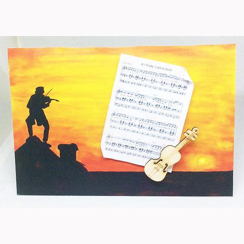 Fiddler 'If I Were a Rich Man' Card
