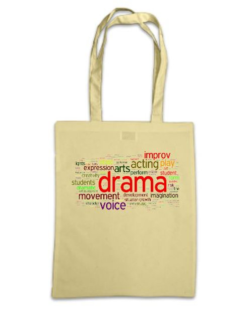 Drama Words Tote Bag