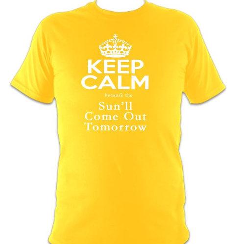 """Annie Children's """"Sun'll Come out Tomorrow"""" T-shirt"""