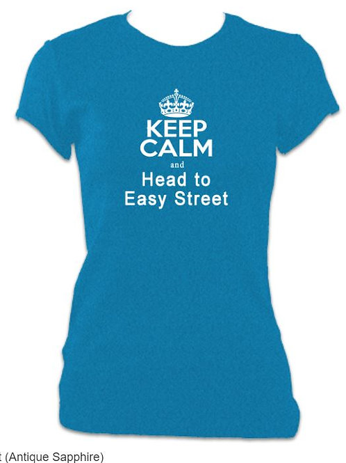 Annie Ladies Fitted Easy Street T-shirt
