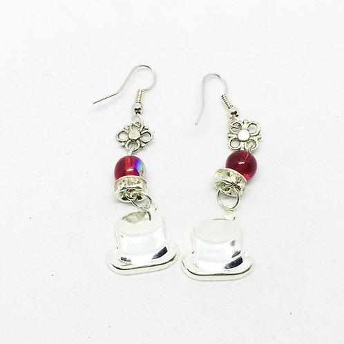 Top Hat Drop earrings