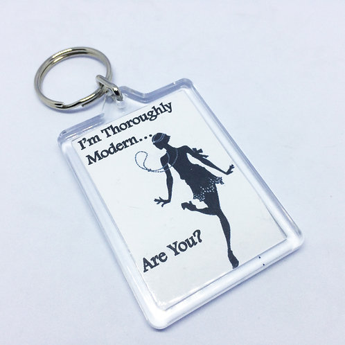 Thoroughly Modern Millie Double Sided Keyring