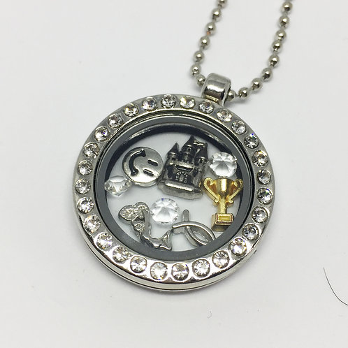 Spamalot Memory Locket Necklace