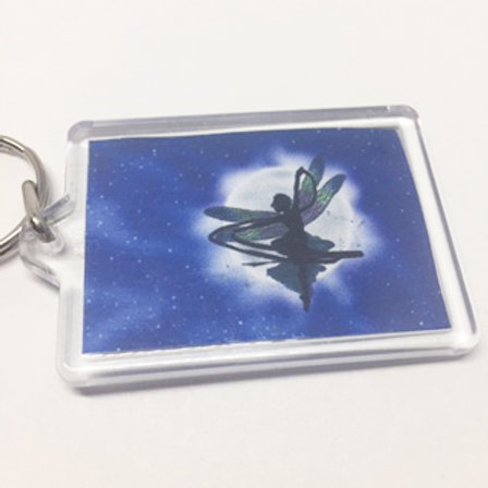 Fairy Double sided keyring