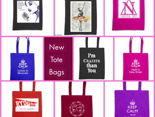 New to the Site - Tote Bags