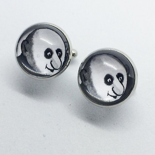 Addams Family Character Cufflinks