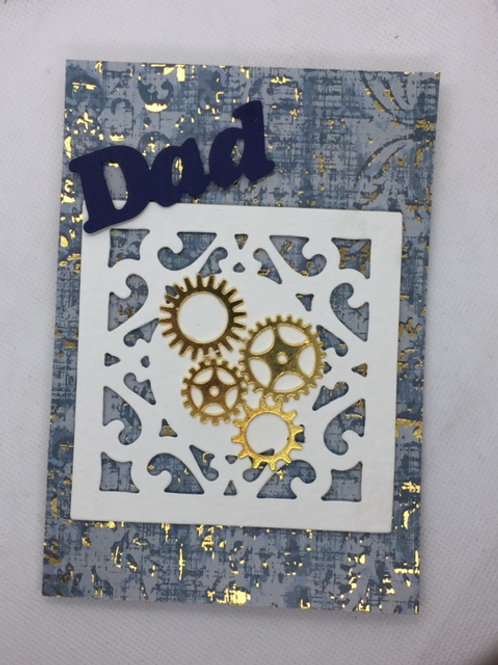 Gold Cogs DAD card