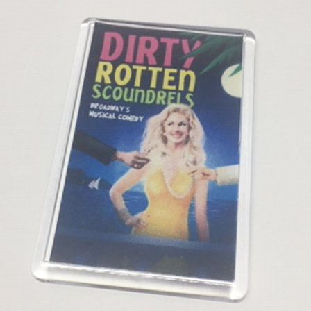 Dirty Rotten Scoundrels Christine Fridge Magnet