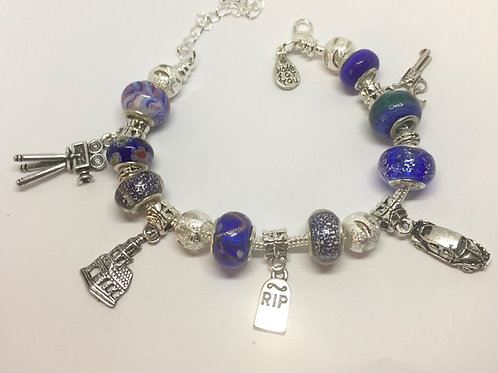 Bonnie & Clyde Charm Bracelet